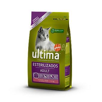 Ultima Affinity Gato estirilizado de salmón Saco 1,5 kg