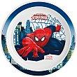 Plato decorado llano 22 cm 1 unidad Spiderman