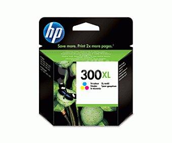 HP Cartuchos de Tinta 300XL Color HP (CC644E) 1 Unidad - Compatible con las Impresoras: HP Deskjet D1660, D2560, D2660, D5560, F2420, F2480, F2492, F4210, F4224, F4272, F4280, F4580, 1 Unidad