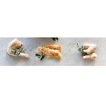 Avicosan Lote de pollo: 1kg filetes de pechuga +1kg traseros + 1kg de alas 1kg