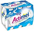 Yogur liquido natural Pack 6 x 100 ml Actimel Danone