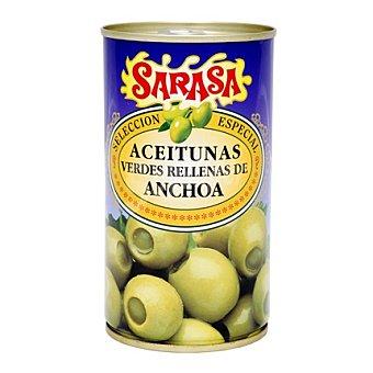 Sarasa Aceituna verde rellena de anchoa lata 350 g