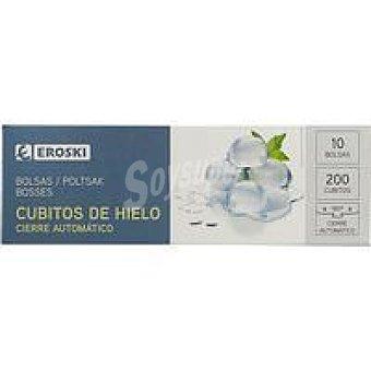 Eroski Bolsa para cubitos de hielo Caja 10 unid