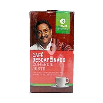 Café descaféinado Intermón