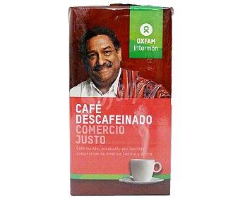 Intermón Oxfam Café descaféinado Intermón Paquete 250 g