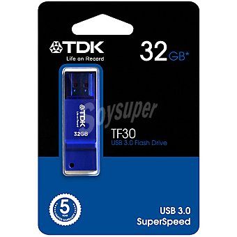 TDK TF-30 Pen Drive 32 GB color azul
