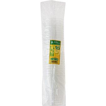 PLASCEPU Vaso de sidra transparente 60 cl paquete 25 unidades Paquete 25 unidades