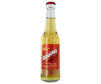 Brahma Cerveza rubia Botella de 33 centilitros