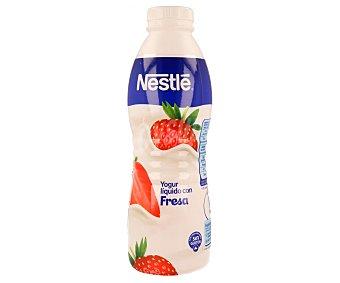 Nestlé Yogur líquido con sabor a fresa Botella de 750 ml