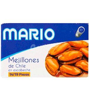 Mario Mejillones de chile en escabeche 14-19 piezas 69 g