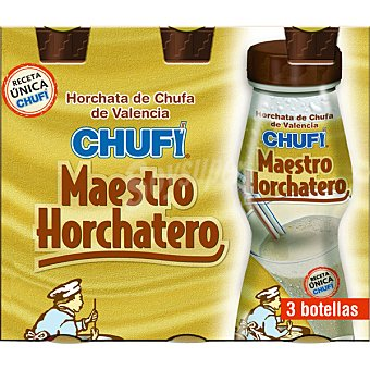 Chufi Horchata de chufa  6 botellas de 175 ml