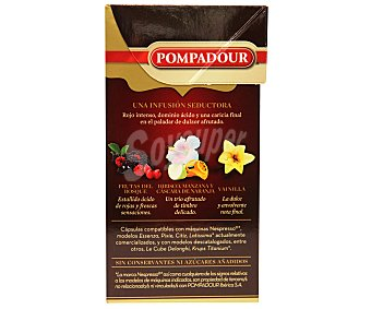 Pompadour Infusión Fruit Love Caja 10 monodosis