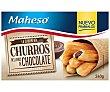 Churros rellenos de chocolate 240 gr Maheso
