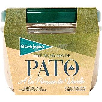 El Corte Inglés Paté de pato a la pimienta verde tarro 100 g Tarro 100 g