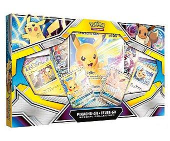 Pokemon Pack Pikachu & Eevee GX Collection para juego de cartas, pokemon