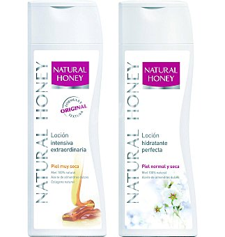 Natural Honey Loción normal 400 ml