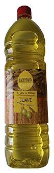 Hacendado Aceite oliva sabor suave tapon rojo Botella 1 l