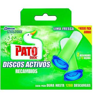 Pato Discos act. rec limon 2 UNI