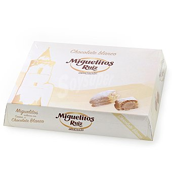 Ruiz Miguelitos de chocolate blanco 500 g