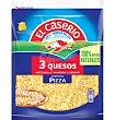 Queso el caserío especial pizza 3 quesos rallado 130 g El Caserío