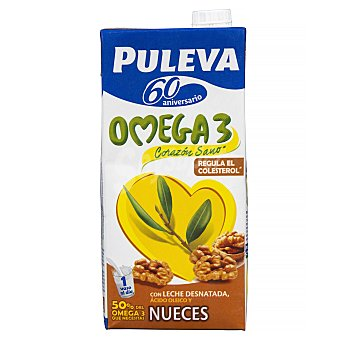 Puleva Preparado lácteo con omega 3 y nueces Brik 1 l