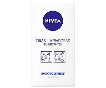Nivea Tiras limpiadoras purificantes para todo tipo de pieles (elimina puntos negros y impurezas) 6 unidades