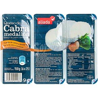 Aliada Medallón de queso de cabra 6 unidades (150 g)