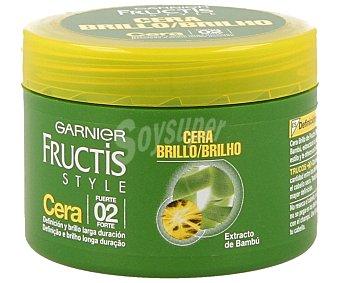Fructis Style Garnier Cera de peinado fuerte Tarro 75 ml