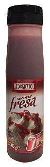 Hacendado Sirope fresa Botella 300 g
