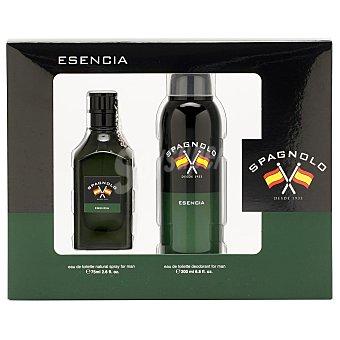 Spagnolo Estuche Esencia Man: Colonia y Desodorante 200 ml 75 ml