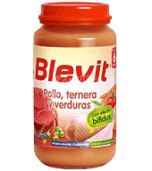 Blevit Tarrito de Pollo, ternera y verduras 250 g