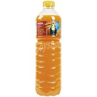 Eroski Refresco tropical sin gas Botella 1,5 litros