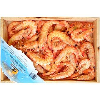 MARISCOS MENDEZ Langostinos cocidos tigre 40-60 piezas/kg caja 1 kg Caja 1 kg