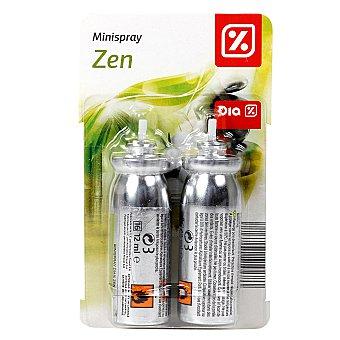 DIA Ambientador mini spray aroma zen recambio 2 ud 2 ud