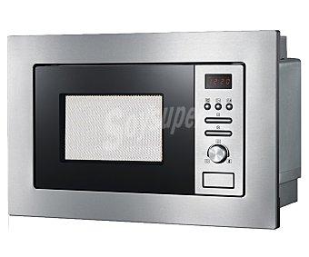 SEVERIN MW7880 Microondas integrable, color acero inoxidable, capacidad 20 litros, potencia: 800w, grill: 1000w, ancho: 59,5cm, alto: 39cm 20 litros