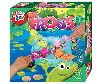 Rik&Rok Auchan Juego de Mesa Infantil de Habilidad, de 2 a 4 Jugadores 1 Unidad