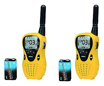 Dickie toys Juego de Walkie Talkies con función de llamada fácil, incluye pilas 1 unidad