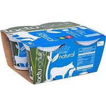 LACTUYOGUR Yogur natural Pack 4x125 g