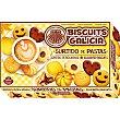 Surtido de pastas sin aceite de palma envasadas individualmente Estuche 550 g Biscuits Galicia