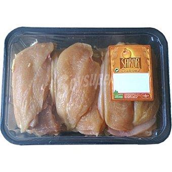 SABOR Filetes de pollo formato ahorro peso aproximado Bandeja 1,6 kg