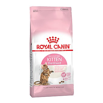 Royal Canin Comida para gatos esterilizados de 6 a 12 meses  Bolsa 2 kg