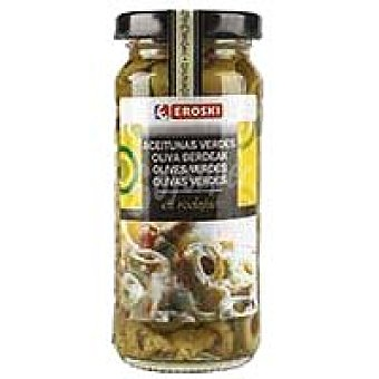 Eroski Aceitunas verdes en rodajas Tarro 105 g