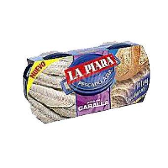 La Piara Paté de caballa Pack 2x75 g