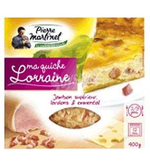 PIERRE MARTINET Quiche Lorraine 400 g