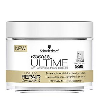 Essence Ultime Schwarzkopf Mascarilla intensiva Omega Repair para cabello dañado 200 ml