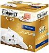GOLD MOUSSE alimento húmedo para gato mousse de pescado lata 85 g caja 8 unidades Gourmet