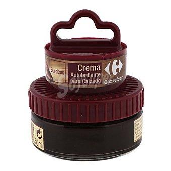 Carrefour Crema autobrillante c/aplicador burdeos 50 ml