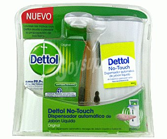 Dettol Dispensador Automático Jabón Líquido Fragancia Original No Touch 250ml