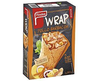 Findus Wrap de Pollo a la Barbacoa Findus 300 gr