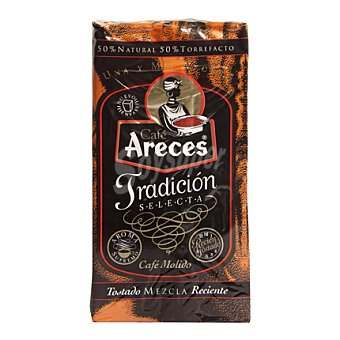 Areces Café molido mezcla Paquete 250 g